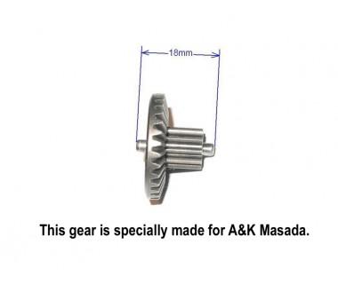 Hardening Super High Torque Gear Set for A&K Masada, Barrel length 455mm or less (220%)